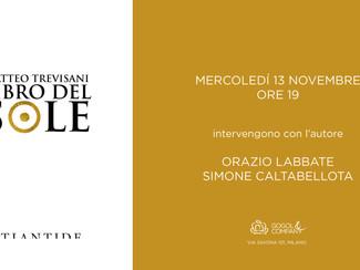 IL LIBRO DEL SOLE - mercoledì 13 novembre