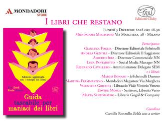 I libri che restano @ Mondadori Megastore Via Marghera - lunedì 3 dicembre