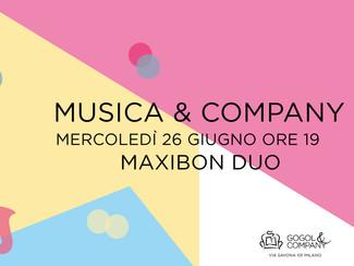 Musica&Company - mercoledì 26 giugno