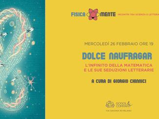 FISICA*MENTE - DOLCE NAUFRAGAR - mercoledì 26 febbraio