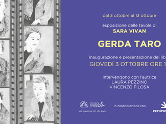 Gerda Taro - giovedì 3 ottobre ore 19