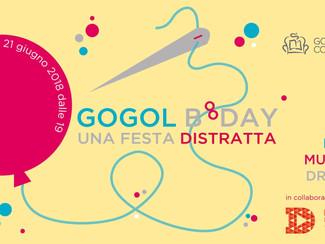 Gogol B°DAY. Una festa distratta - giovedì 21 giugno