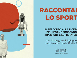 Raccontare lo sport - un corso tra sport e letteratura