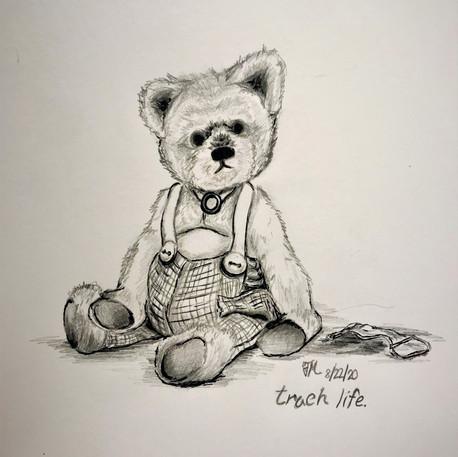 'Trach Bear' by Fabrizia Maiello