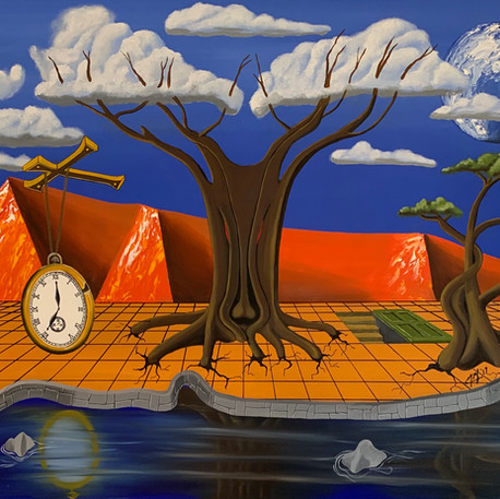 'Trying Times' By Mark Moore