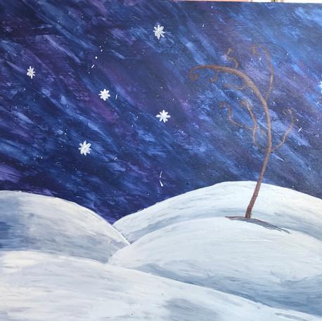 'Winter's Silent Night' by Nicole Estrada