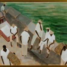 Sitting on the Breakwater, Panama, 1960, 'Women Who Dared' Collection