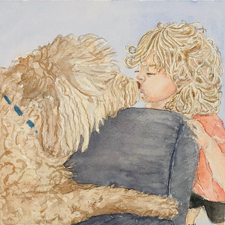 'Until I Can Kiss Mommy Again, I Will Kiss My Best Friend' By Suzanne Abrams
