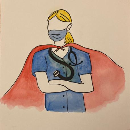 'Super Heroes' by Kara Zingale