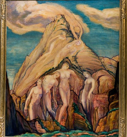 Theosophy Mountain, 1931 'Women who Dared' Collection