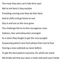 'The Mask' By Barbara Carlin