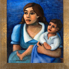 Mother and Child, 1936, 'Women Who Dared' Collection
