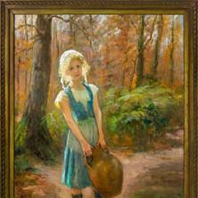 Cossack Girl, Circa 1882, 'Women Who Dared' Collection