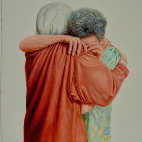 'The Hug' by Robert Fleisher