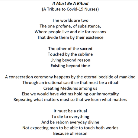 'It Must Be A Ritual', by Kelly Riedesel