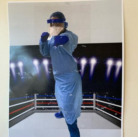 'Fighting the Virus' By Anne Stark