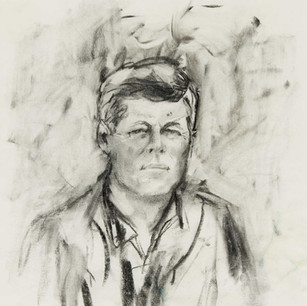 ELAINE DEPortrait of John F. Kennedy, 1963