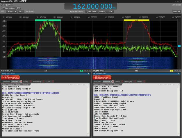 Krypto1000 SIGINT COMINT decoding software - update