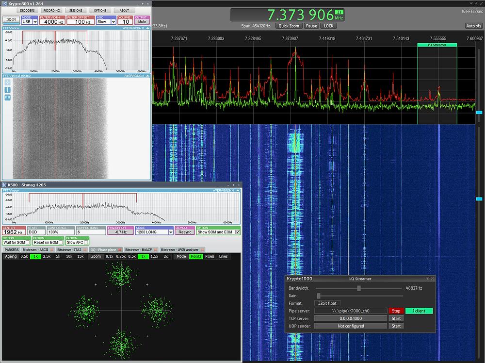 SIGINT   COMINT   Krypto500    Krypto1000   Decoding   Decoder   HF VHF UHF Decoder   Trunk Mobile Radio   Electronic Warfare (EW)   Electronic Attack (EA)   Electronic Support Measures (ESM)   radio monitoring