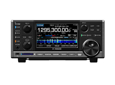 Icom R8600 and R9500 supported in Krypto500