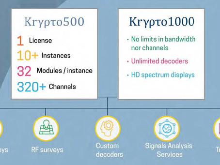 Daqscribe Wideband Recorders and Krypto500 - Krypto1000