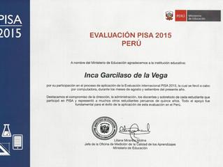 Evaluación internacional PISA 2015