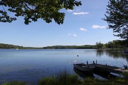 lakefront park model dock