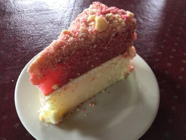Strawberry Scooter Crunch Cake