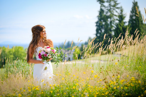 Wedding photo at the Westwood Plateau Golf & Country Club, Coquitlam