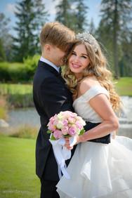 Seymour golf & country club wedding photo