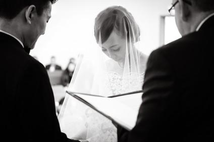 Wedding ceremony Wedding ceremony in Richmond, British Columbia