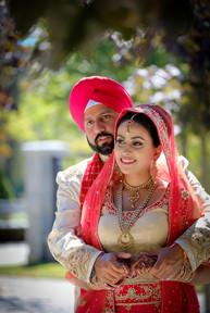 Bride & groom wedding photo in Surrey, British Columbia