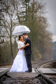 Fort Langley wedding photo