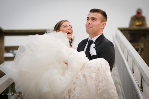 Rocky Point park wedding photo