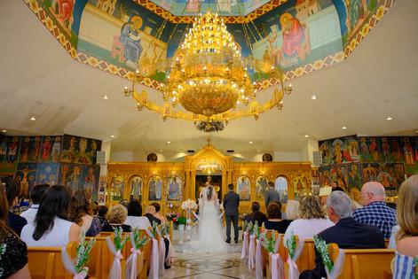Greek Wedding at Saint Nicholas & Dimitrios Greek Orthodox Church