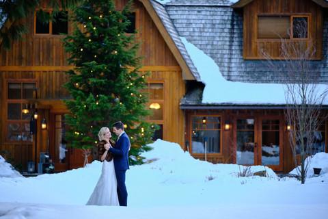 Whistler Brew Creek Centre Winter Wedding