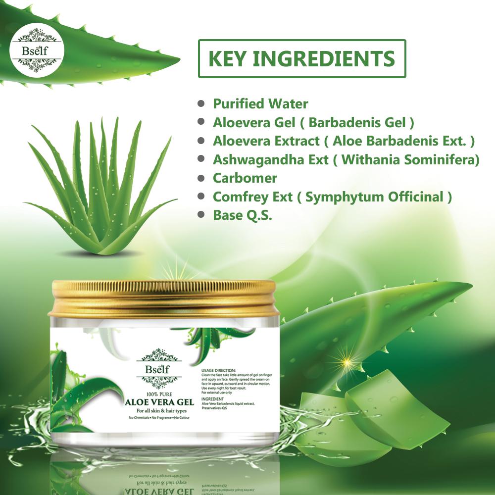 Bself AloeVera Gel Ingredients