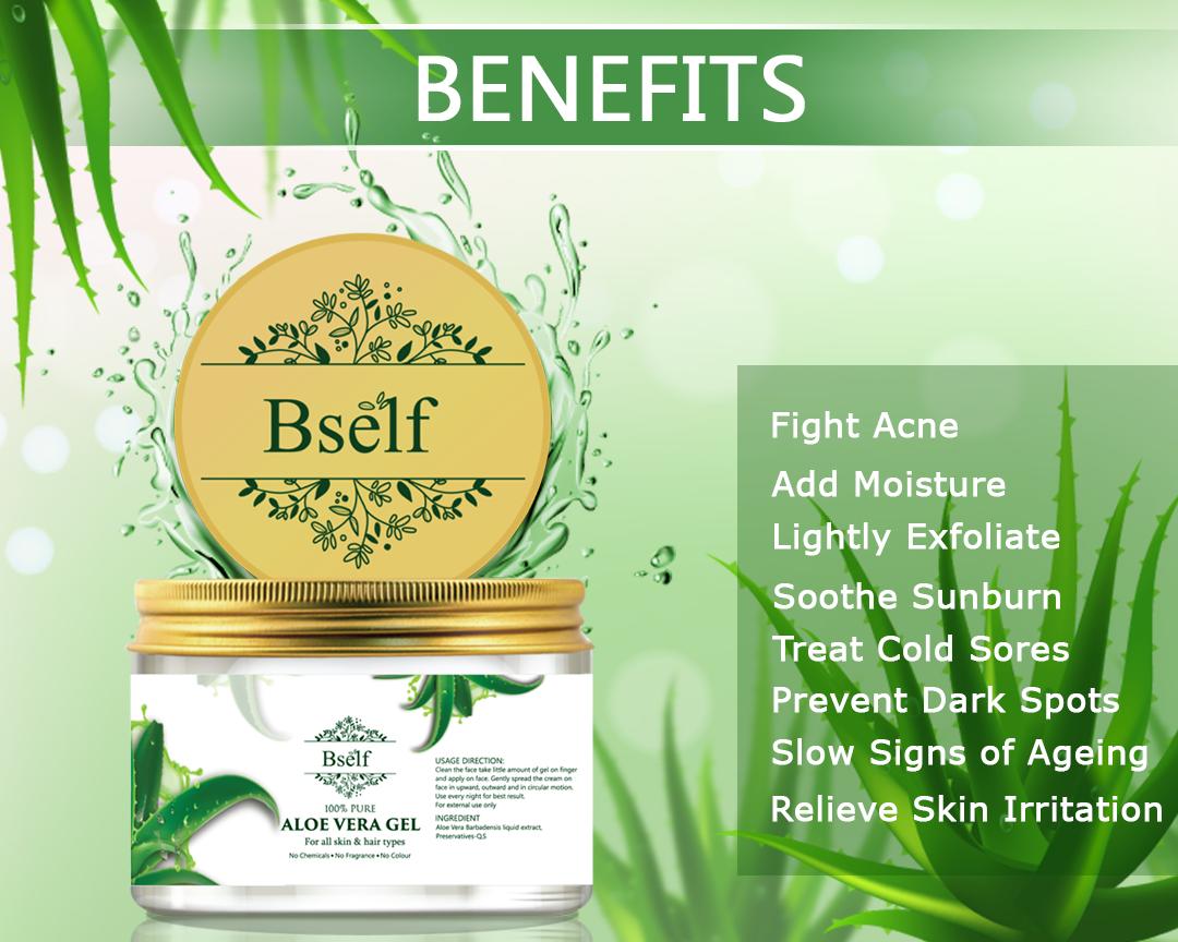 Bself AloeVera Gel Benefits