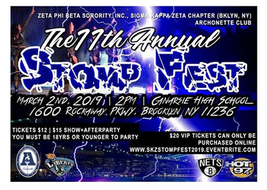 Sigma Kappa Zeta's Archonettes Present their 11th Annual Stomp Fest on March 2