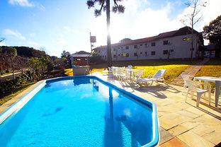 Piscina Aquecida - Hotel San Lucas - Gramado - Rio Grande do Sul  - Brasil
