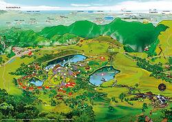 Mapa do Rio do Rastro Eco Resort