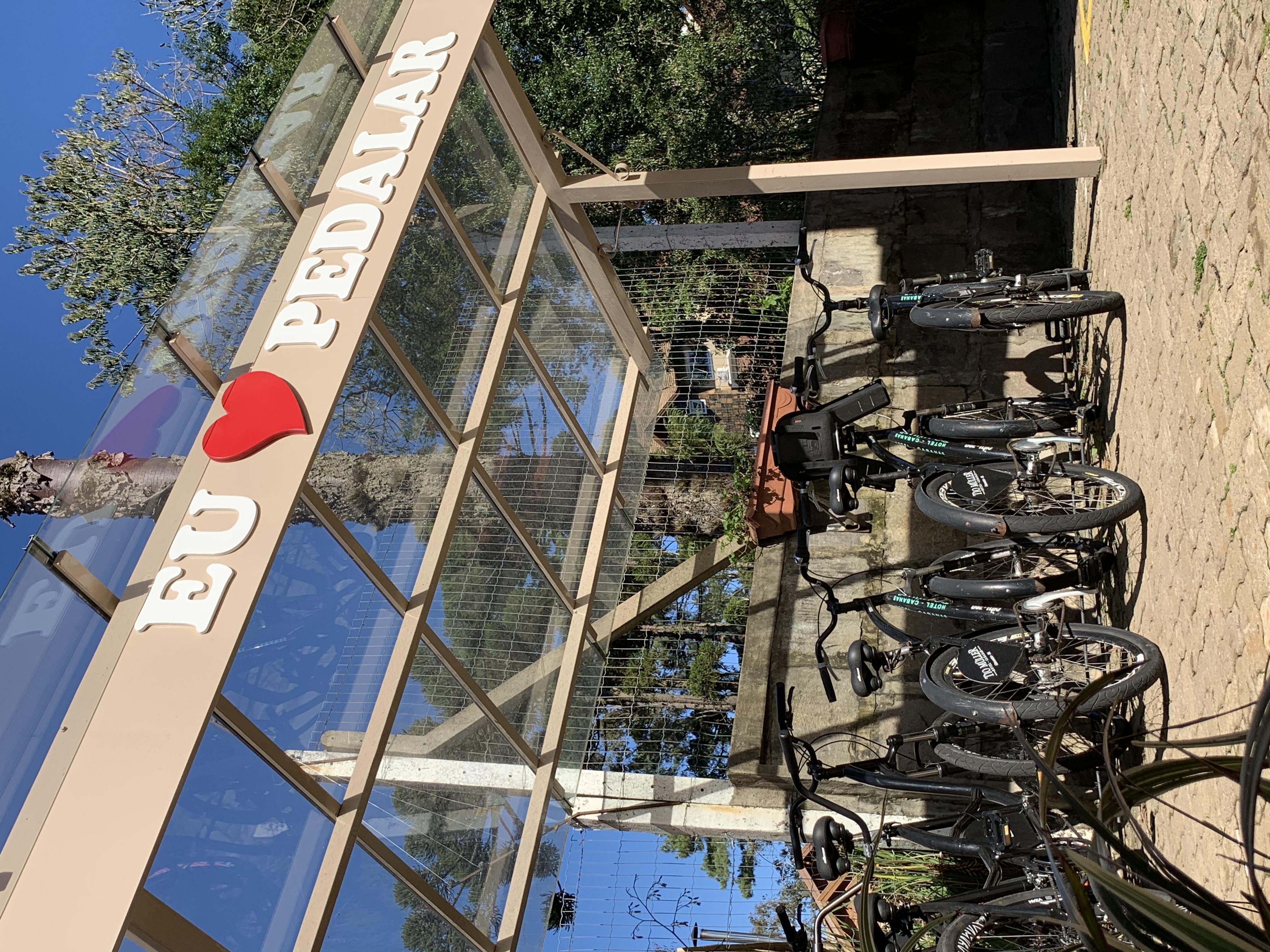 Bicicletas Hotel Cabanas Tio Muller em Gramado