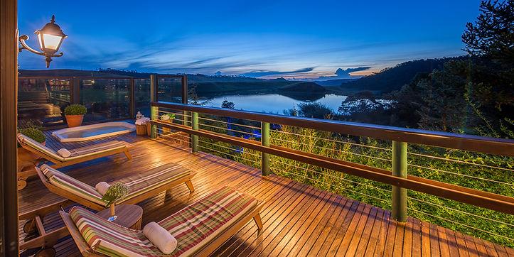Jacuzzi do Hotel Rio do Rastro Eco Resort