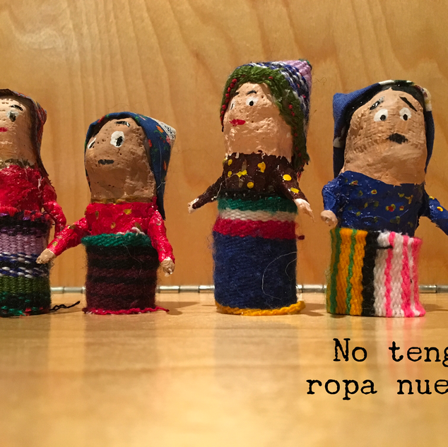 Worry Dolls- finger puppets