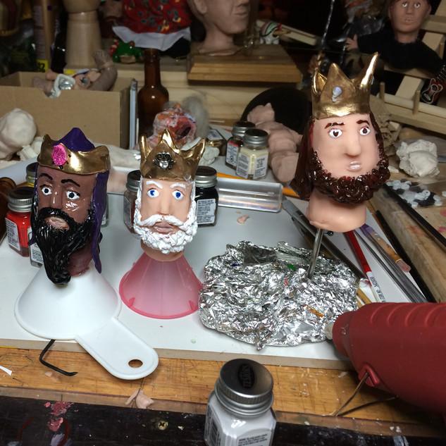 Los Reyes Magos- finger puppets