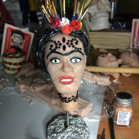 ornate head