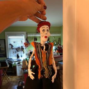 Calavera puppets