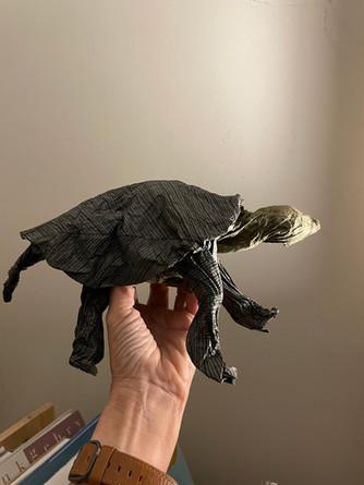 Crumpled Paper Animals!
