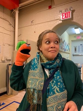 Teachers puppet workshop!