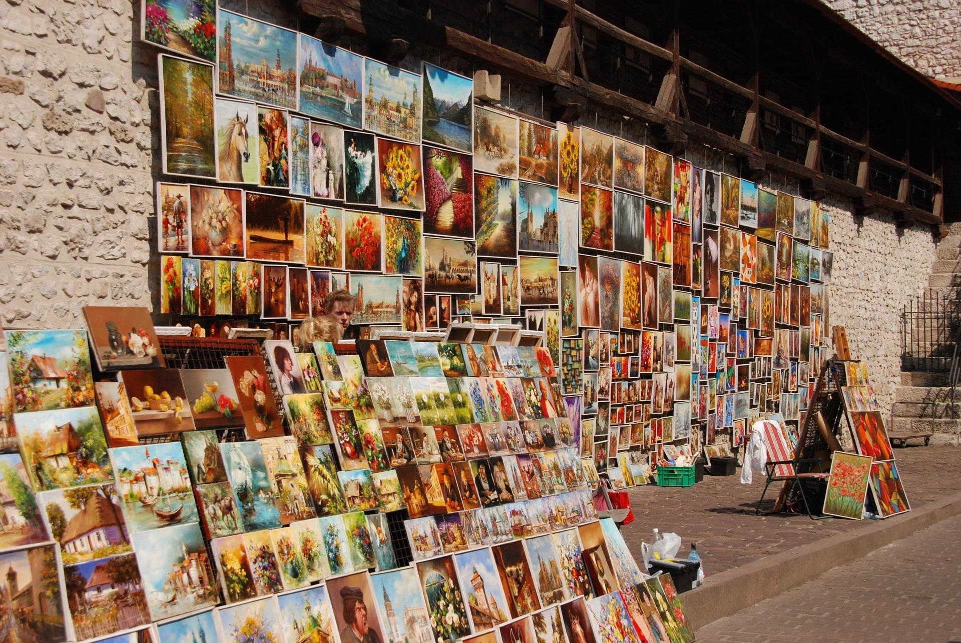 Cracovia, Barbakan, arte, Polonia